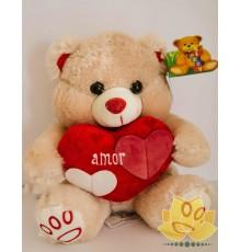 Urso e coração